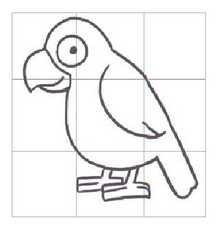 天上飞的简笔画_天上飞的鹦鹉简笔画内容图片展示_天上飞的鹦鹉简笔画图片下载